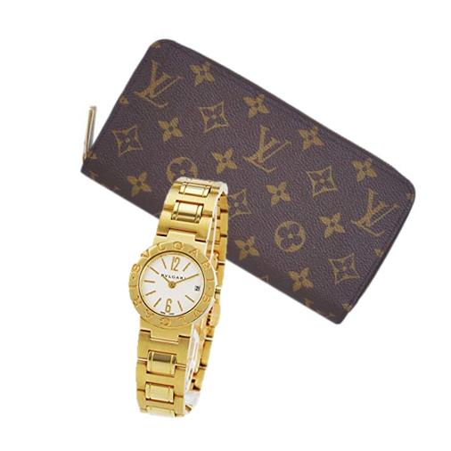 ヴィトン財布、腕時計
